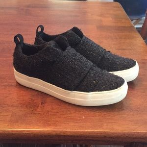 Dolce Vita Black Embellished Sneakers
